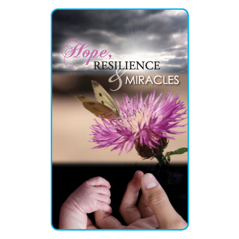 Hope, Resilience and Miracles Greeting Card